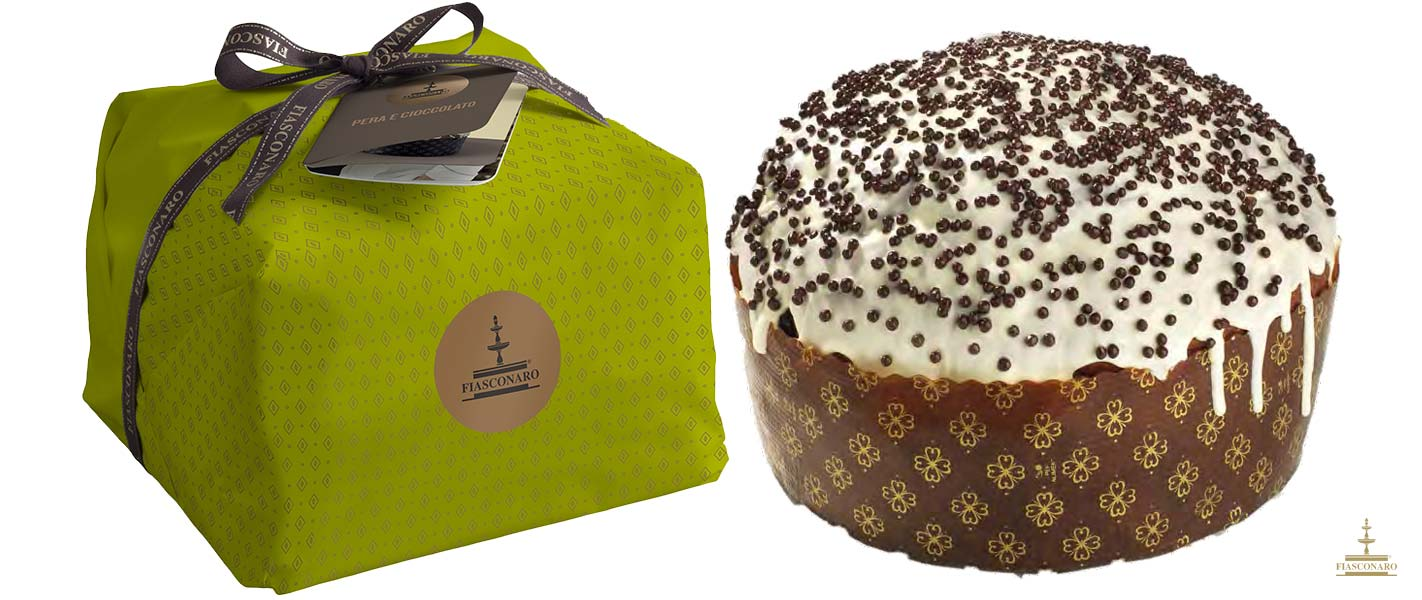 Panettone Pera y chocolate