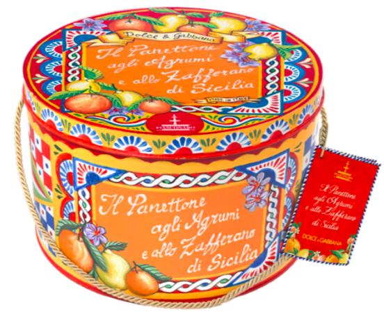 Panettone D&G agrumi e zafferano