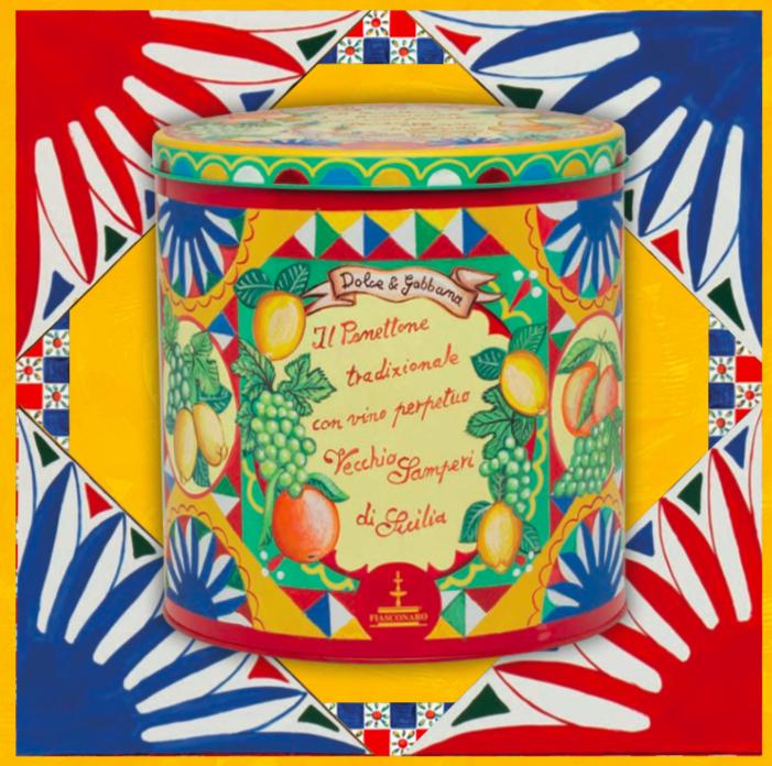 Panettone D&G samperi lata